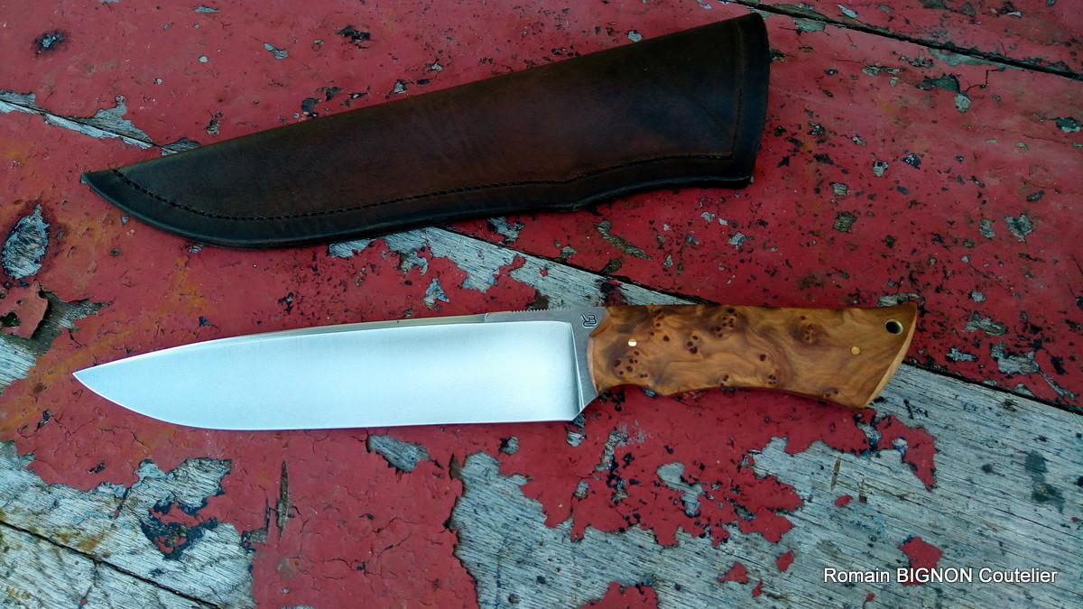 S-couteau droit 14C28N 4mm loupe de thuya (5)