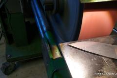 S-couteau droit 14C28N 4mm loupe de thuya (2)